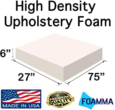 """FREE SHIPPING 27/"""" x 27/"""" Square Upholstery Cushion Replacement Foam Sheet"""