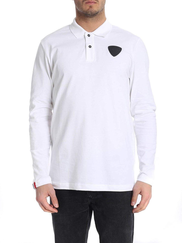 L Rossignol Luxury mode Homme RLHMY22100 Blanc Polo   Printemps été 19