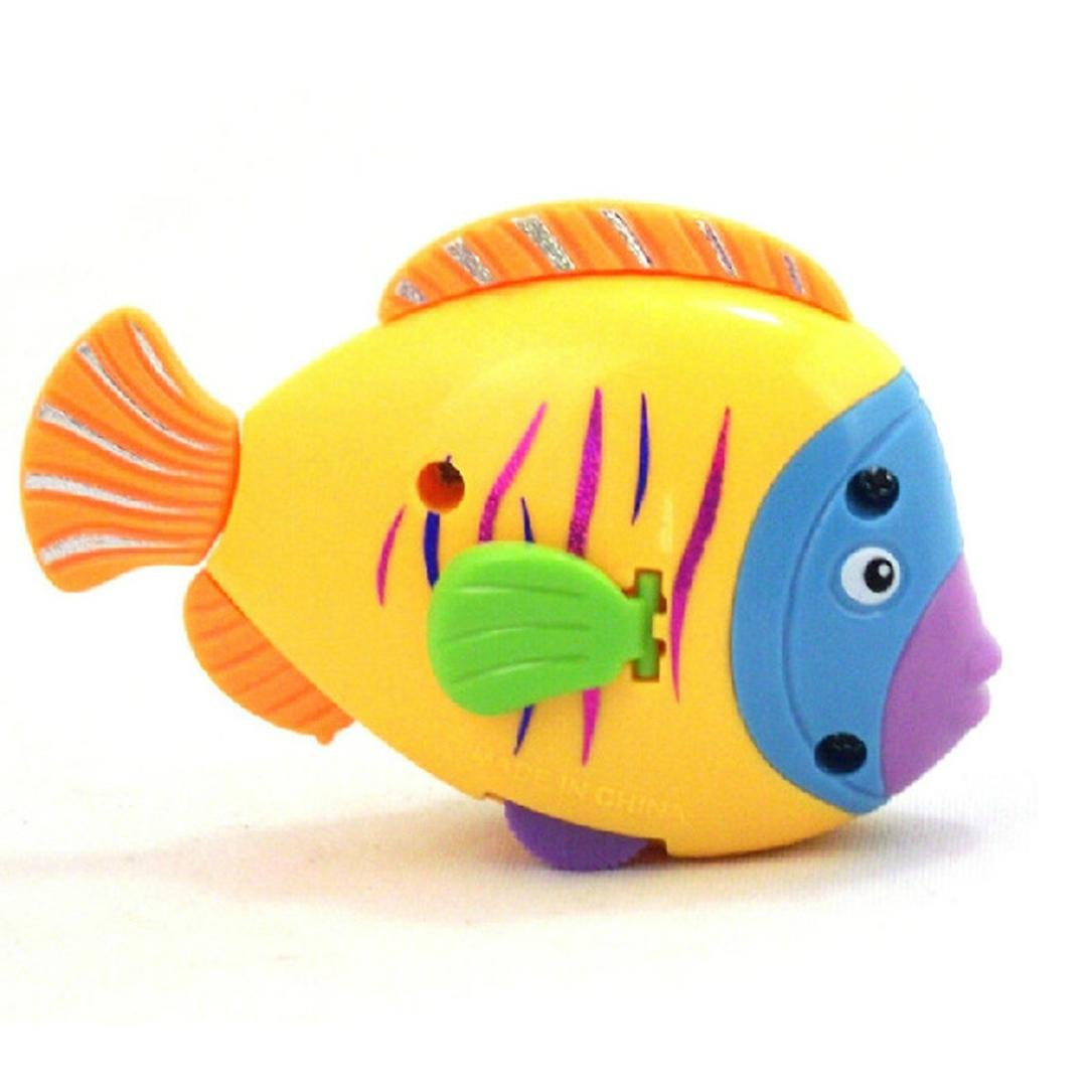 Sannysis Chain On The Discus Fish Tail Moving ChildrenTake A Bath Toy