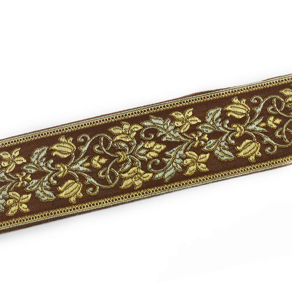 Vosarea - Cinta de tela bordada para cenefa de ventana (6 cm de ancho): Amazon.es: Hogar