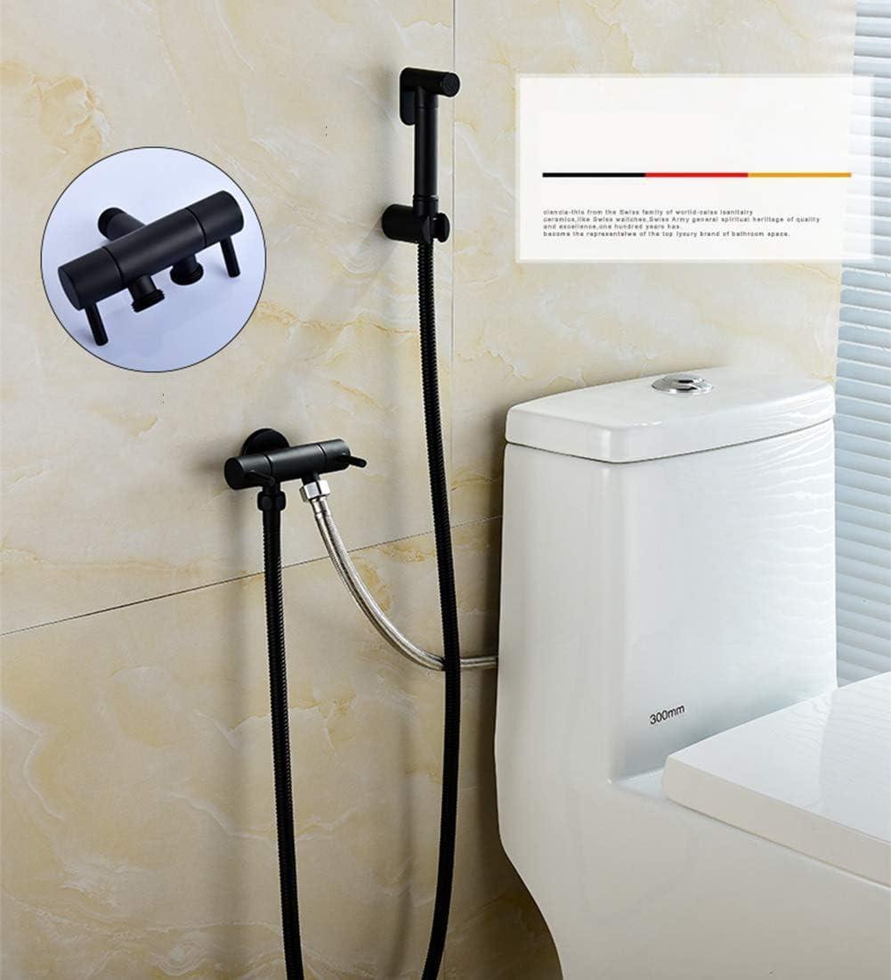 SuRose Wand-Armatur Bidet Messing Adapter Eckventil mit Doppelgriff f/ür pers/önliche Hygiene und Reinigung