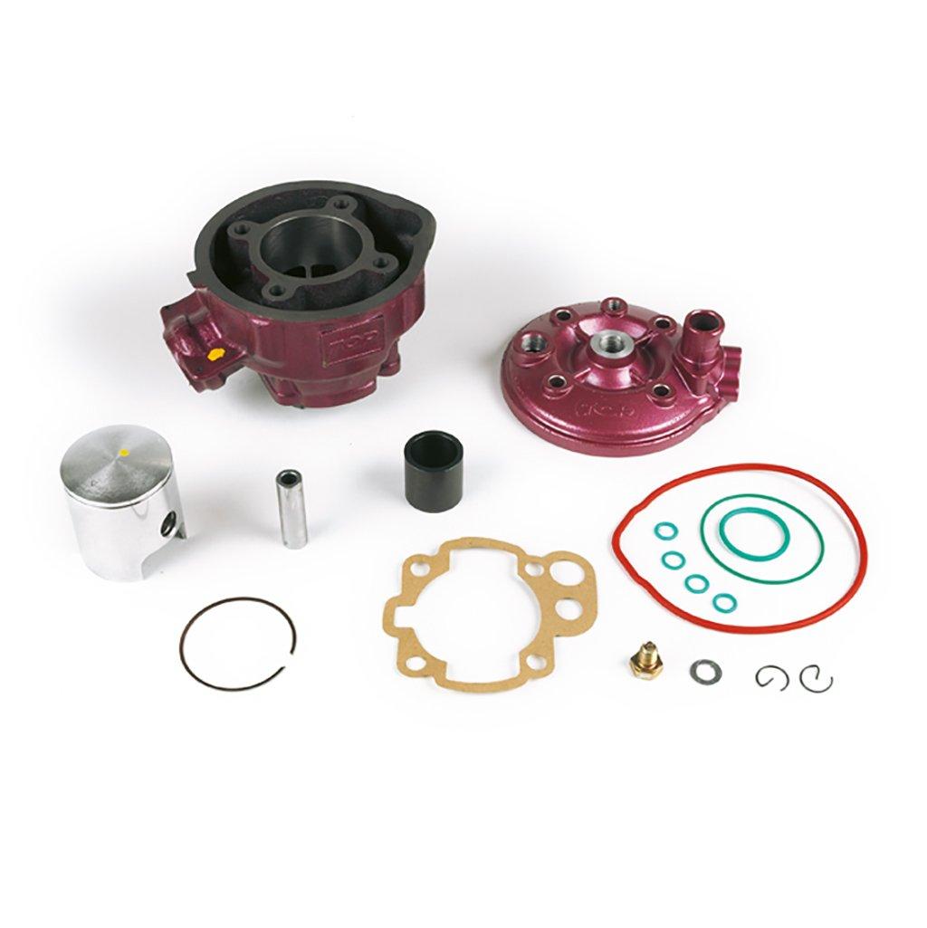Kit cylindre Top Performances 70cc LC, Cylindre en fonte grise Minarelli AM 345/6