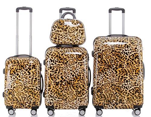 BEIBYE 8009 - Set valigie in 5 colori