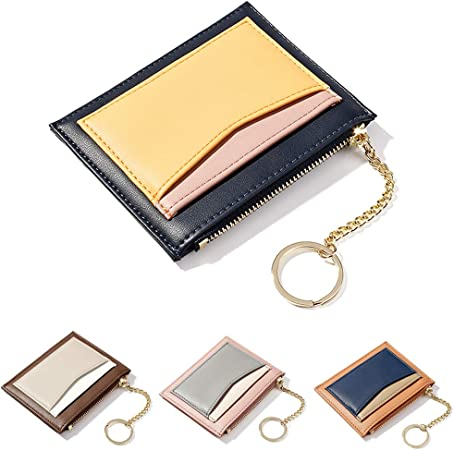 Durable Women Wallet Purse PU Leather Coin Purse Card Holder Zipper Pouch Bag
