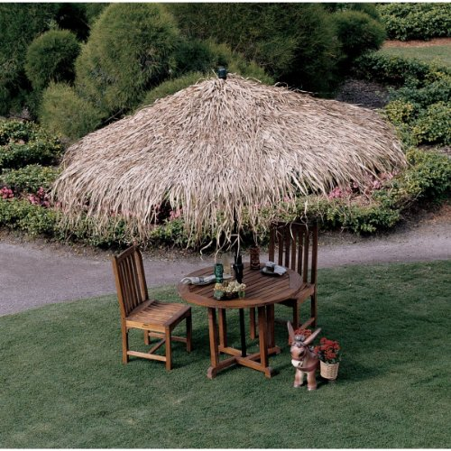 Outdoor Tropical Thatch Umbrella Cover by XoticBrands