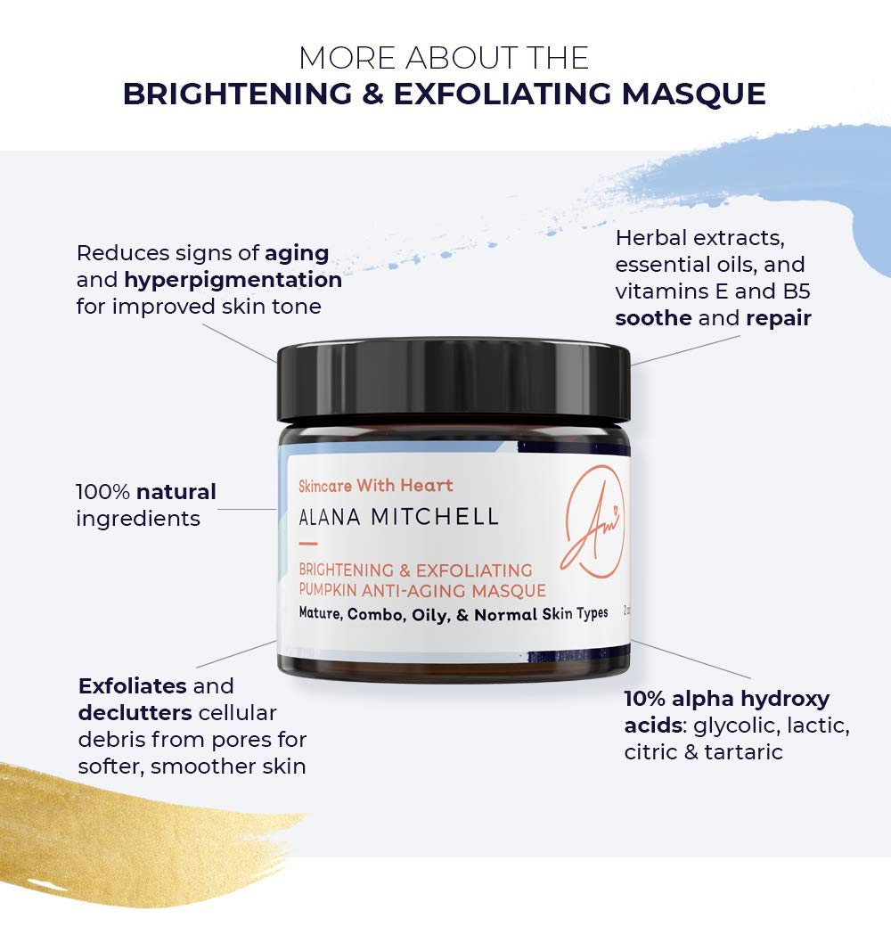 Amazon.com: Alana Mitchell - Máscara facial exfoliante de ...