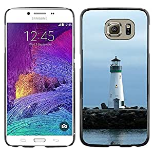 "For Samsung Galaxy S6 , S-type Faro Faro de Lonely"" - Arte & diseño plástico duro Fundas Cover Cubre Hard Case Cover"