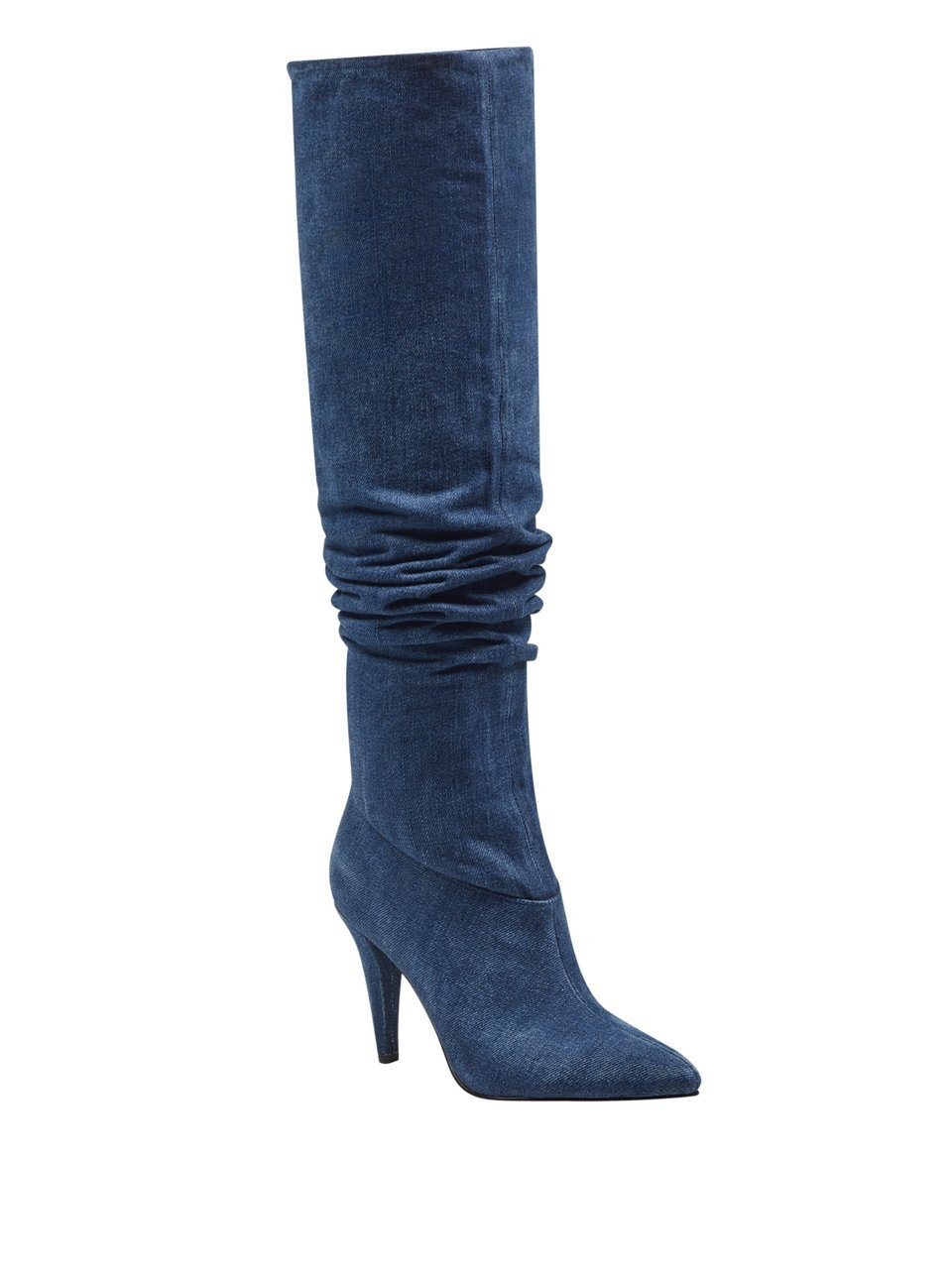 GUESS Women's Nidia Denim Slouchy Boots