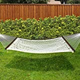 product description Best Choice Products is proud to present this brand new Cotton Rope Hammock. Whenever you feel like relaxing and lounging around in your backyard or patio, our cotton rope hammock is the best accessory for your needs. The rope ham...