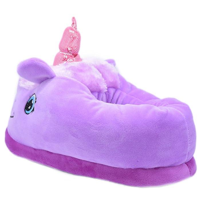 Peluche Zapatillas - Pantuflas de Peluche Unicornio - Talla única para Adultos - Très Chic Mayo Landa, Color Rosa, Talla OneSize: Amazon.es: Zapatos y ...