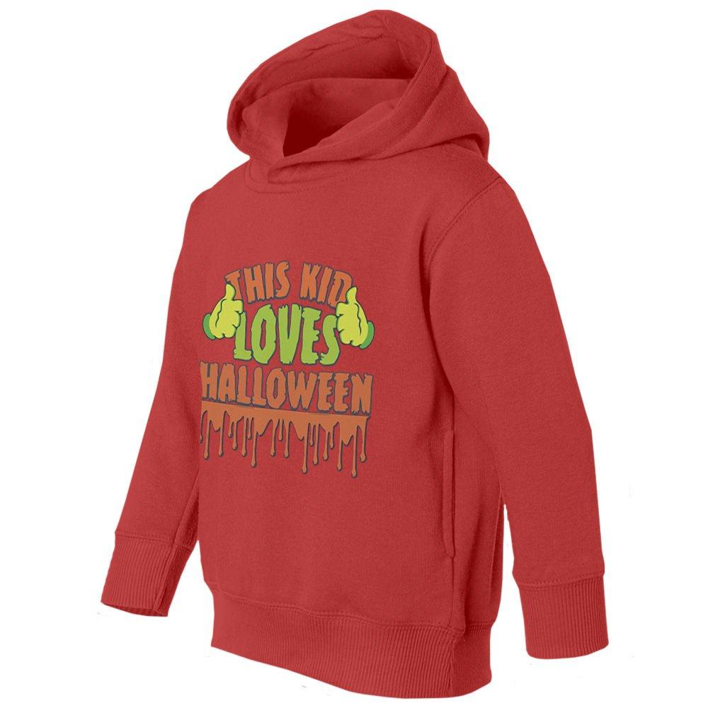 Societee This Kid Loves Halloween Youth /& Toddler Hoodie Sweatshirt