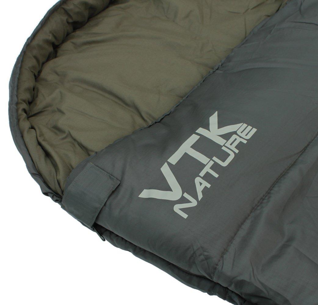 VTK Nature - Saco de dormir Everest -5 C °/-8 C ° - senderismo, Camping, Vivac: Amazon.es: Deportes y aire libre
