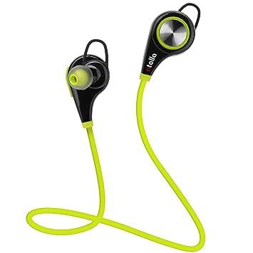 Atolla S2 auriculares inalámbricos Bluetooth V4.0 con aptX micrófono manos libres deportivos In-
