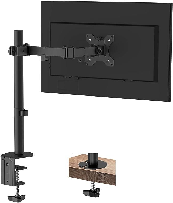 Putorsen Monitor Halterung Monitor Tischhalterung Computer Zubehör