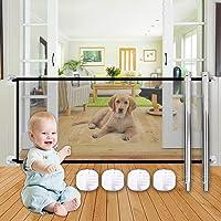 SEGMINISMART Puerta Mágica para Perros,Puerta mágica para Mascotas o bebés,Barrera Seguridad Perros,Barrera para Perro…