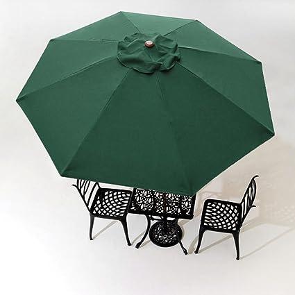 10u0027 Umbrella Replacement Cover Top 8 Rib Deck Outdoor Canopy Garden Beach Patio Pool Color & Amazon.com : 10u0027 Umbrella Replacement Cover Top 8 Rib Deck Outdoor ...
