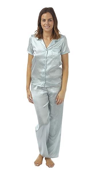 BHS para mujeres mujeres ropa de dormir ropa de noche satén ...