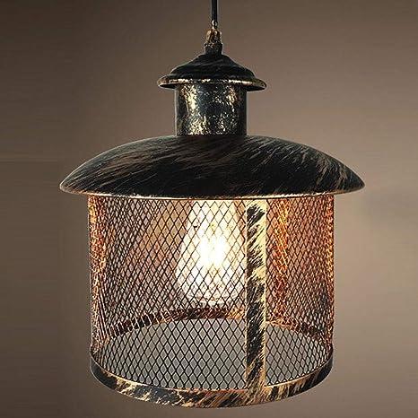 Lámpara de techo industrial vintage, antigua, clásica, de ...