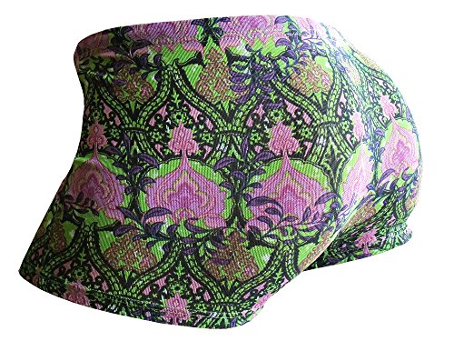 Solar Tan Thru Badehose Shorty 7941260-94 lime/purple