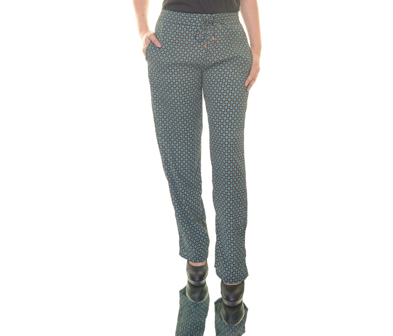 Bar III Womens Sea Cove Combo Pants Size M