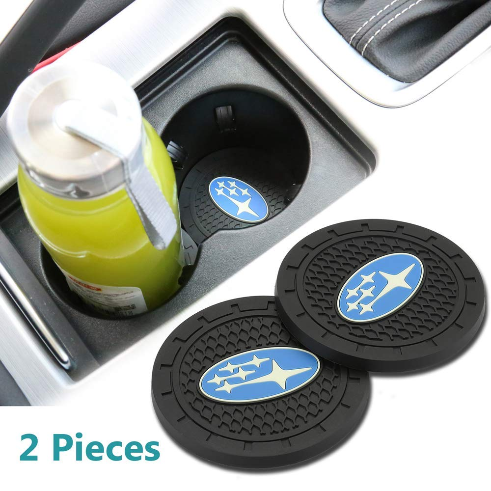 New Orleans Saints Wall Stickz wesport 2.75 Inch Diameter Oval Tough Car Logo Vehicle Travel Auto Cup Holder Insert Coaster Can 2 Pcs Pack