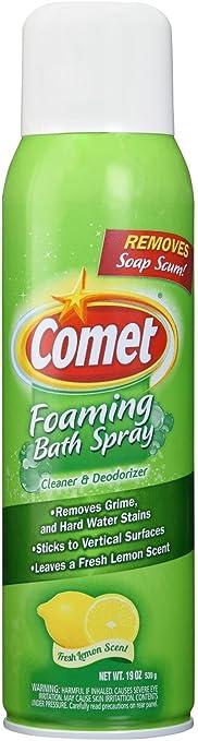 Amazon Com Comet Foaming Bath Spray 19 Ounce Health Personal Care