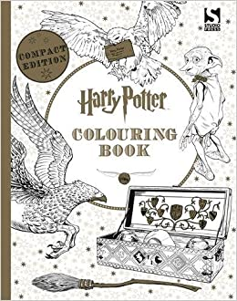 Harry Potter Colouring Book Compact Edition Amazoncouk 9781783707065 Books