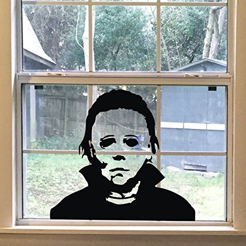 FlyWallD Halloween Holiday Decals Michael Myers Horror Living Room Sticker Funny Door -