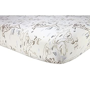 Sadie scout crib sheet zahara world map amazon baby sadie scout crib sheet zahara world map gumiabroncs Gallery