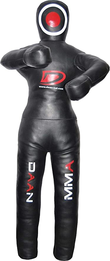 DAAN MMA BJJ UFC Kick Boxing Judo Wrestling Leather Grappling Dummy Unfilled