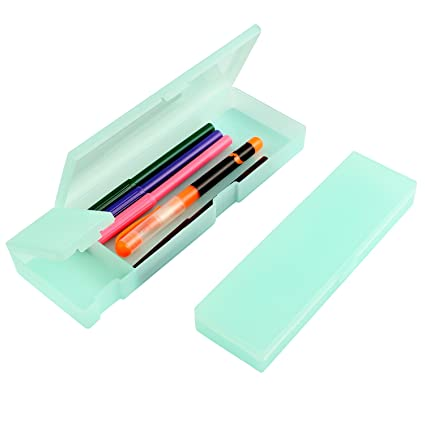 Estuche de plástico para lápices, 2 piezas, Kereda Candy ...