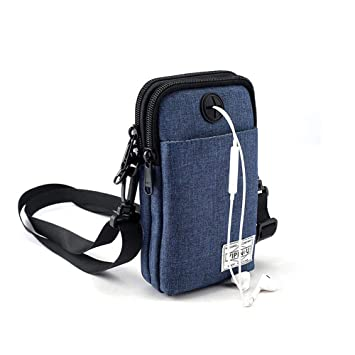 Small passport-sized travel bag across the shoulder bag new adjustable strap