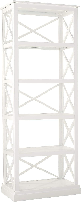 Coaster Home Furnishings Johansson 5-Shelf Bookcase Antique White