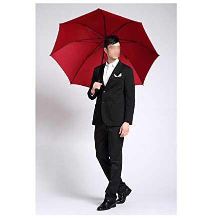 CYJZ® Hombres Paraguas Long Mango Oversized doble Creative Automático Paraguas Mujer Lluvia Y Lluvia Negocios