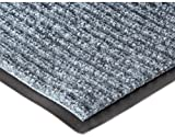 NoTrax 109 Brush Step Entrance Mat, for Lobbies and Indoor Entranceways, 4' Width x 8' Length x 3/8'' Thickness, Slate Blue