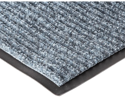 NoTrax 109 Brush Step Entrance Mat, for Lobbies and Indoor Entranceways, 4' Width x 8' Length x 3/8'' Thickness, Slate Blue by NoTrax