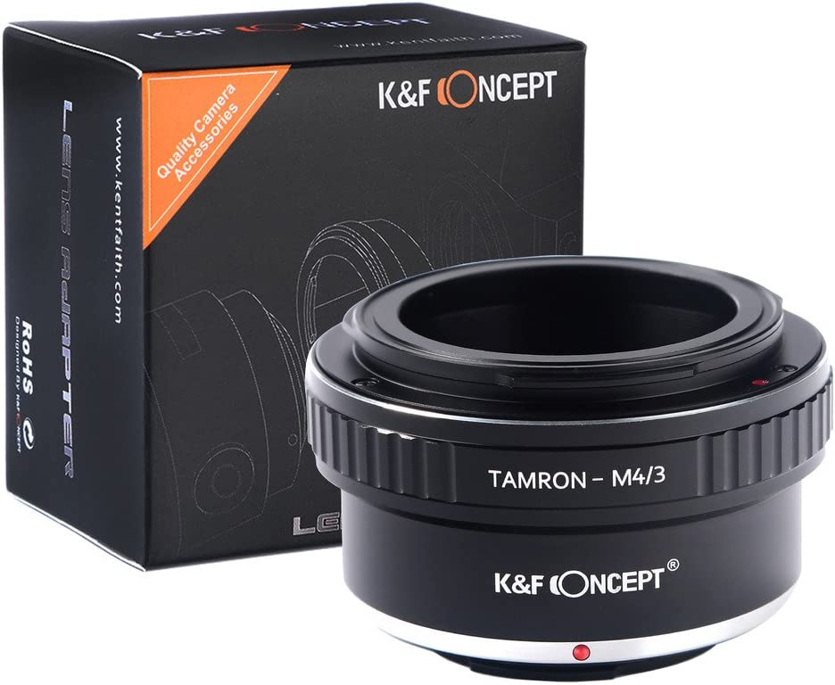 K/&F Concept Lens Mount Adapter for Tamron to Micro M4//3 Lens Camera Body