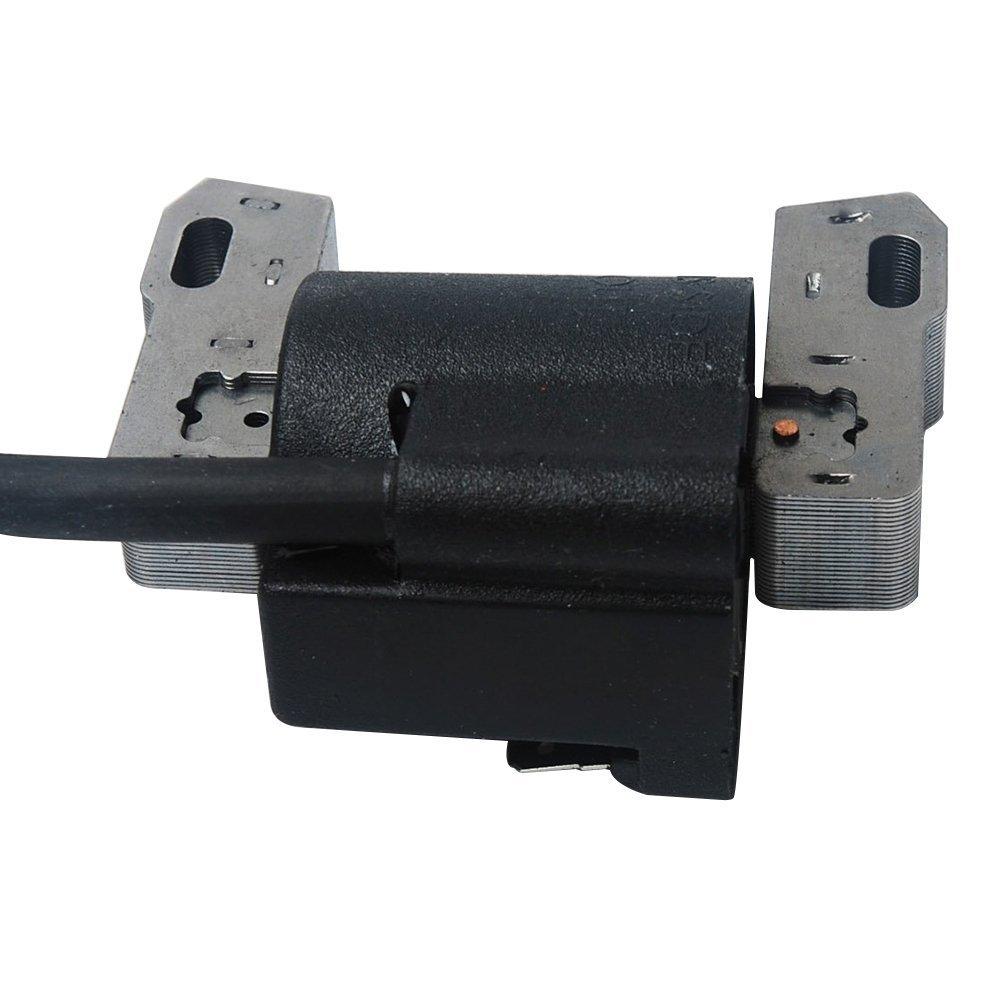 Ouyfilters Nouvelle Marque de remplacement de bobine dallumage avec bougie dallumage pour Briggs /& Stratton magn/éto 490586/491312/hub /& concentrateur 495859