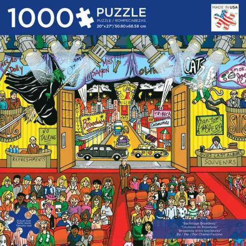 Andrews + Blaine Ltd Backstage Broadway - 1,000 Pc Puzzle