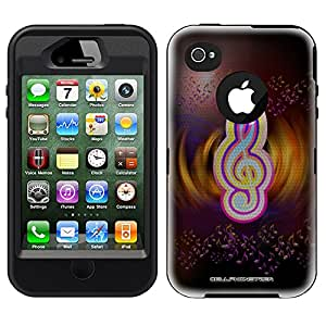 Otterbox Defender Digital Music Sign Case for iPhone 4
