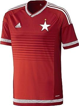Adidas Camiseta de fútbol para Hombre Wisla Cracovia Home Talla:Extra-Small