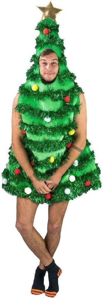 Bodysocks Fancy Dress Disfraz de Árbol de Navidad para Adultos ...