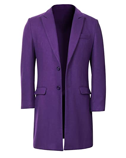 NUWIND - Disfraz de Joker The Dark Knight Traje Abrigo de ...
