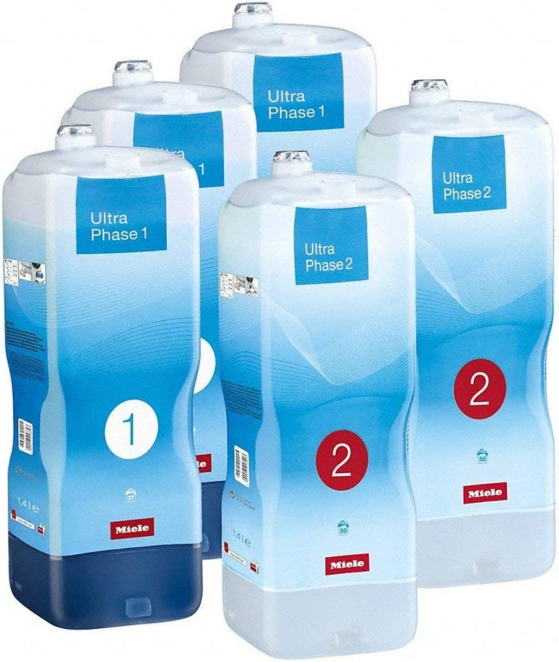 MIELE - DETERGENT PACKAGE ULTRAPHASE 1 AND 2 - TWINDOS 5 PIECES - 10943070