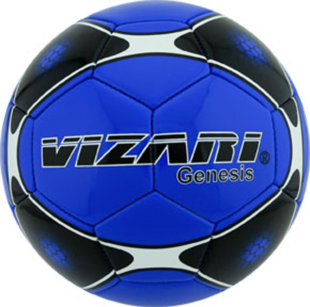 Vizari Genesisボール B00R92AHYG Size 3|ブルー ブルー Size 3