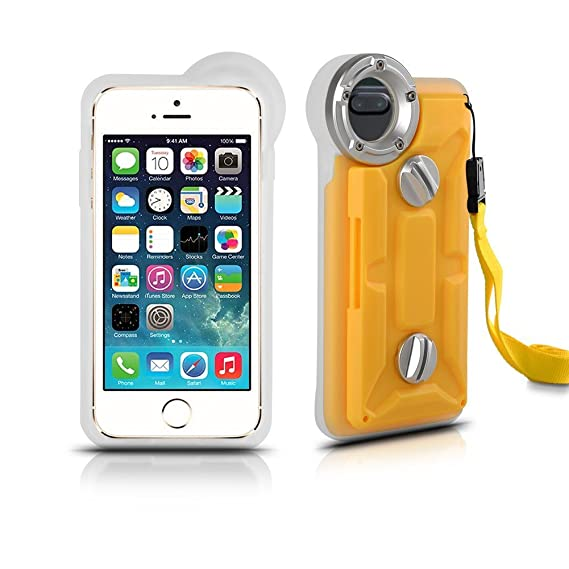 separation shoes 7cf17 22406 Underwater Housing for iPhone 8 Plus iPhone 7 Plus and iPhone 6/6s Plus,  Grade IP68 Professional [100m/328ft] Dive Swimming Underwater Photo Video  ...
