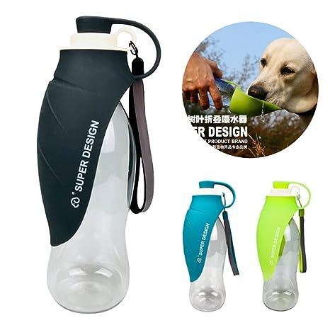 Botella De Agua Portátil Para Mascotas - Dispensador De Agua Reversible Taza De Bebida Bowl Para