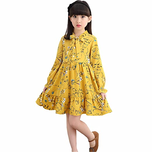Yellow Casual Spring Dresses