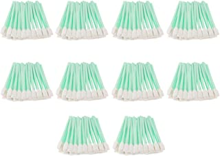 KESOTO 500 Pack 5'' Large Rectangular Solvent Foam Tip Cleaning Swab, for Printer Print Head,Roland, Canon, HP, Mutoh, Mimaki, Inject/Thermal Printer