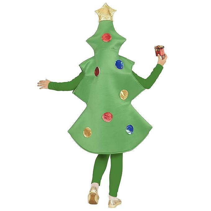 WIDMANN wdm02807 ? Disfraz para niños Árbol de Navidad (140 cm/8 ...